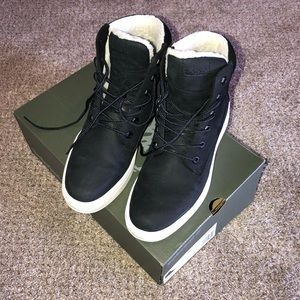 Timberland Londyn warm lined black boots